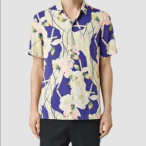 Allsaints hawaiian shirt